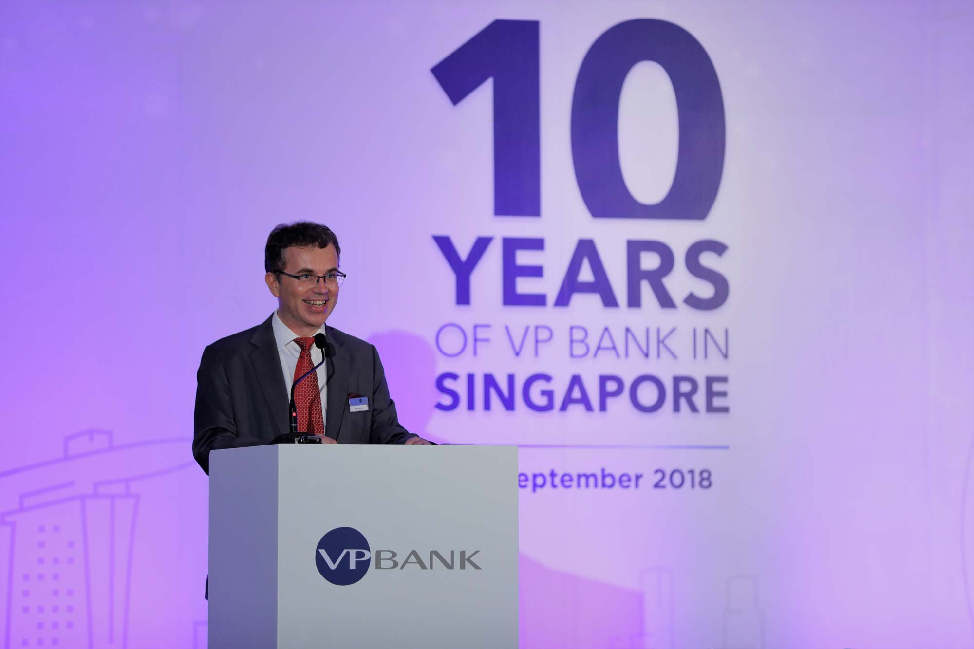 Bruno Morel, CEO, VP Bank Ltd Singapore Branch